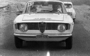 Israel 1965 Rally Alfa Giulia Sprint GT