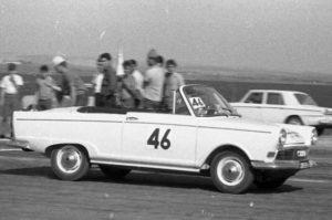 Israel 1965 Rally DKW F12 Kabrio