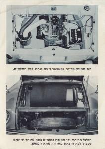 מנוע הקונטסה הגיע לבסוף לחיפה, אם כי לא בחזיתה של המכונית העממית