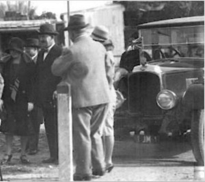 ירושלים 1. הנציב העליון צ'נסלור חונך מסילת ברזל לחיפה בשנת 1929 (הרווארד, צבי אורון)