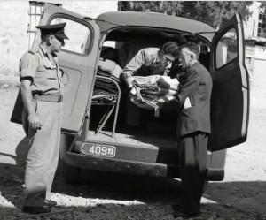 ללא שינוי ניכר. פורד F-1 משטרתית, 1949-50
