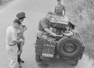 גם המשטרה השתמשה באות M ב-1949 (וילם ואן דר פול, הארכיון הלאומי ההולנדי)