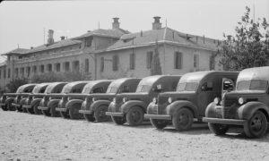 תשעה אמבולנסים על שלדת פארגו טונה וחצי, תרומת המלב האדום האוסטרלי